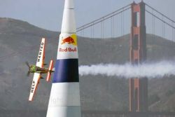 Avi&oacute;n en la Red Bull Air Race